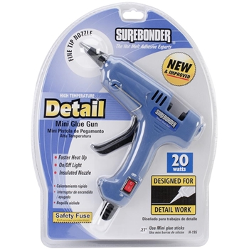 Surebonder HIGH TEMPERATURE DETAIL MINI GLUE GUN H195