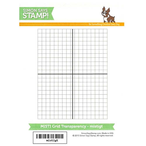 Simon Says Stamp GRID TRANSPARENCY gridtran Preview Image