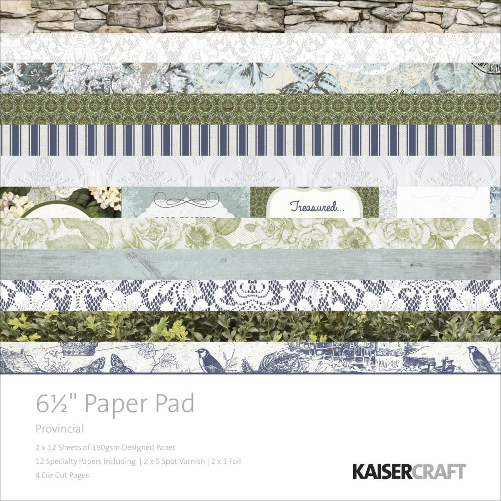 Kaisercraft PROVINCIAL 6.5 x 6.5 Paper Pad PP984 zoom image