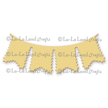 La-La Land Crafts ZIGZAG TRIM BANNER Die Set 8153