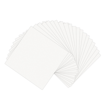 Sizzix PAPER LEATHER SHEETS WHITE 6x6 Paper 661148