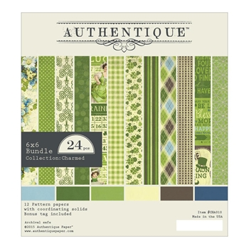 Authentique 6 x 6 CHARMED Paper Pad CHA010