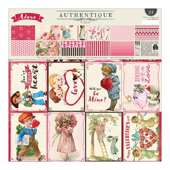 Authentique ADORE 12 x 12 Paper Pad ADR013