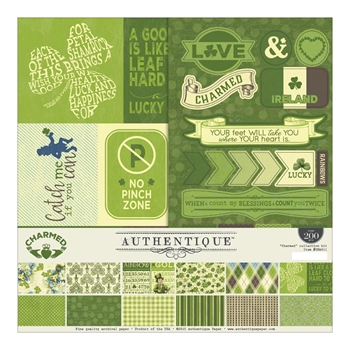 Authentique CHARMED 12 x 12 Collection Kit CHA011*