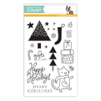 Simon Says Clear Stamps GIFTS OF LOVE SSS101588 *