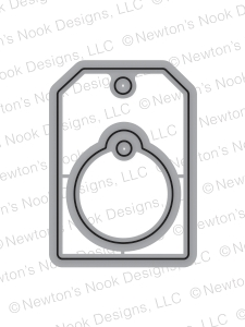 Newton's Nook Designs TAGS TIMES TWO Die Set 20151103