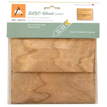 Arc CHERRY WOOD ENVELOPES A2 ARCCW69