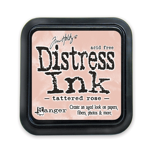Tim Holtz Distress Ink Pad TATTERED ROSE
