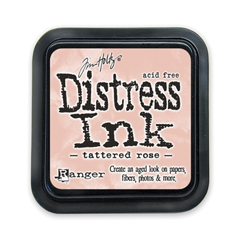 Tim Holtz Distress Ink Pad TATTERED ROSE Ranger TIM20240