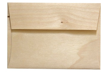 Arc BIRCH WOOD ENVELOPES 4 Bar ARCBW55