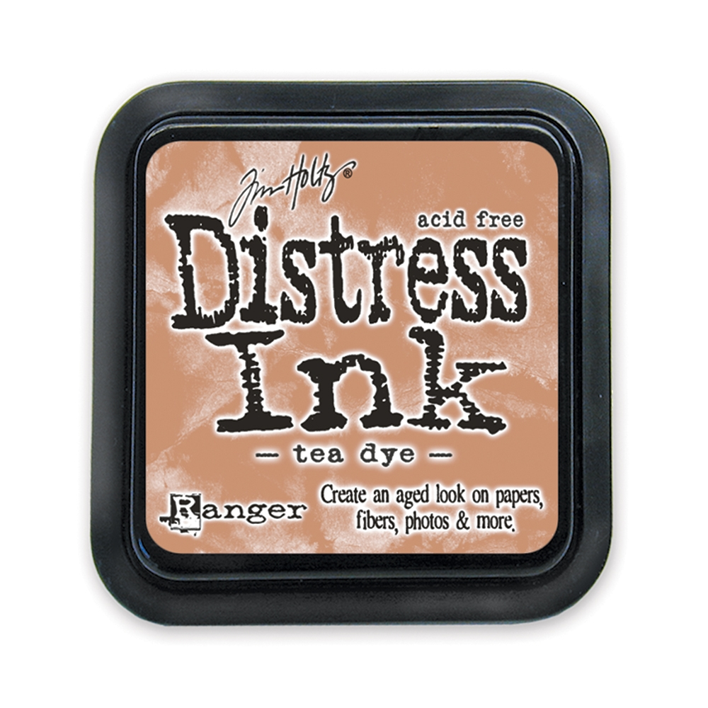 Tim Holtz Distress Ink Pad TEA DYE Ranger TIM19510 zoom image