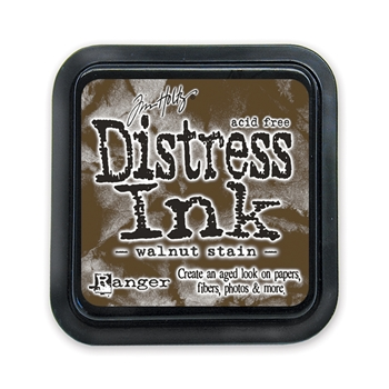 Distress inks - walnut stain