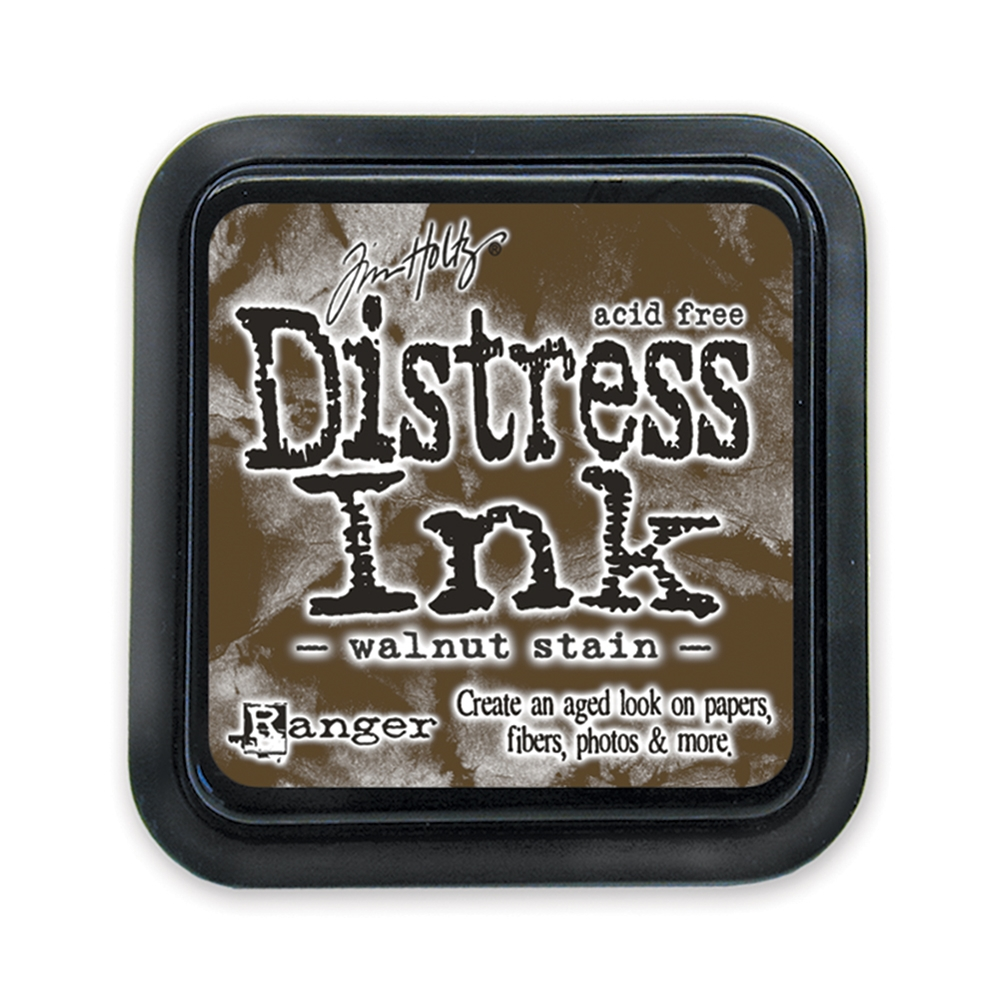 Tim Holtz Distress Ink Pad WALNUT STAIN Ranger TIM19534 zoom image