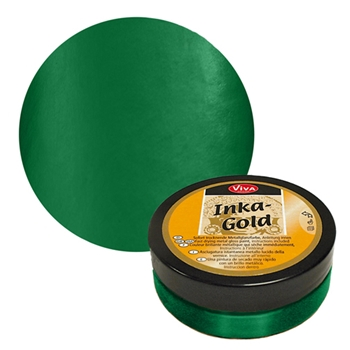 Viva Decor EMERALD Inka Gold Beeswax Polish 2.2oz 612405