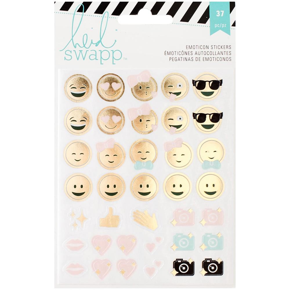Heidi Swapp MEMORY PLANNER Emoticon Stickers 312579 zoom image