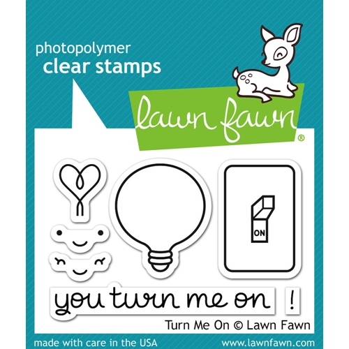 Lawn Fawn TURN ME ON Clear Stamps LF1020 Preview Image