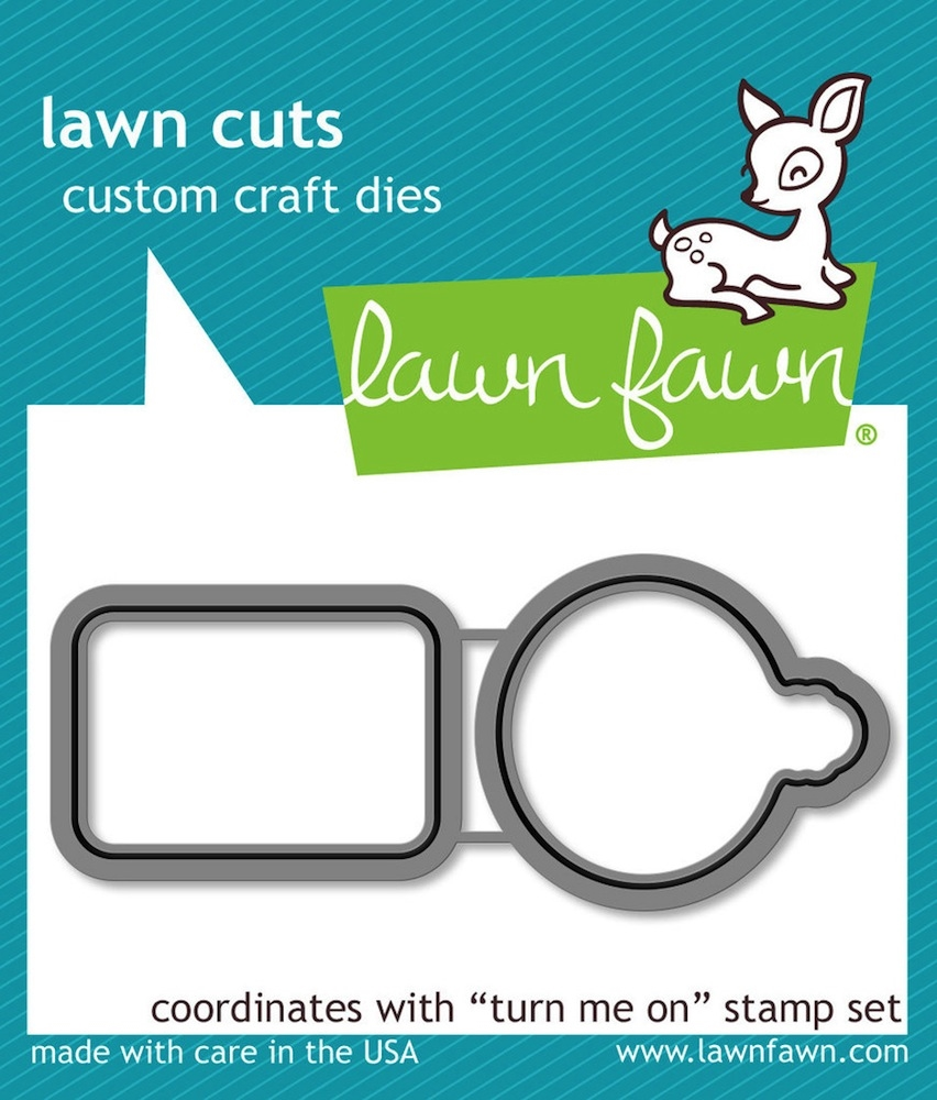 Lawn Fawn TURN ME ON Lawn Cuts LF1021 zoom image