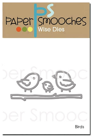 Paper Smooches BIRDS Wise Dies DED288 Preview Image