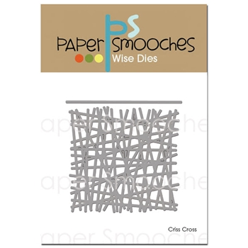 Paper Smooches CRISS CROSS Wise Die DED290