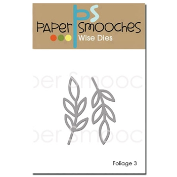 Paper Smooches FOLIAGE 3 Wise Dies DED293