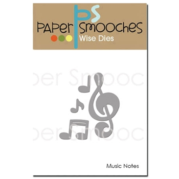 Paper Smooches MUSIC NOTES Wise Dies DED295