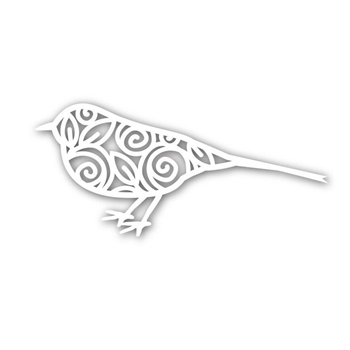 Simon Says Stamp BIRD OF ROSES Wafer Die SSSD111541