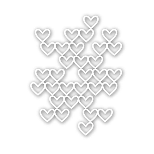 Simon Says Stamp STACKED HEARTS Wafer Die SSSD111540 Preview Image