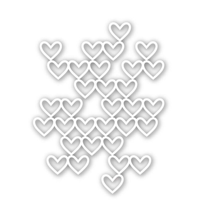 Simon Says Stamp STACKED HEARTS Wafer Die SSSD111540 zoom image