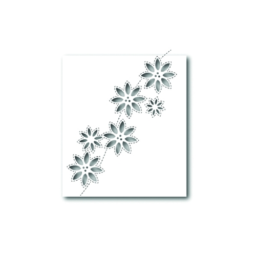 Simon Says Stamp SIMPLE POINSETTIA CUTOUTS Wafer Die S327 Preview Image