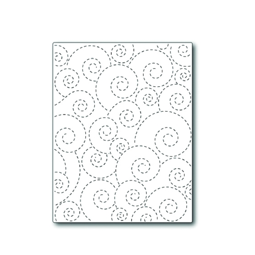 Simon Says Stamp STITCHED WHIRL BACKGROUND Wafer Die S308 Preview Image