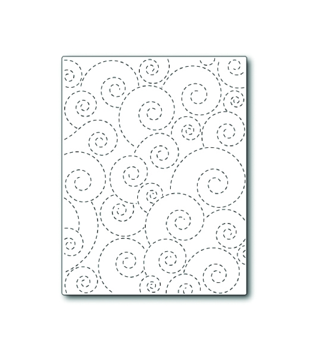 Simon Says Stamp STITCHED WHIRL BACKGROUND Wafer Die S308 zoom image
