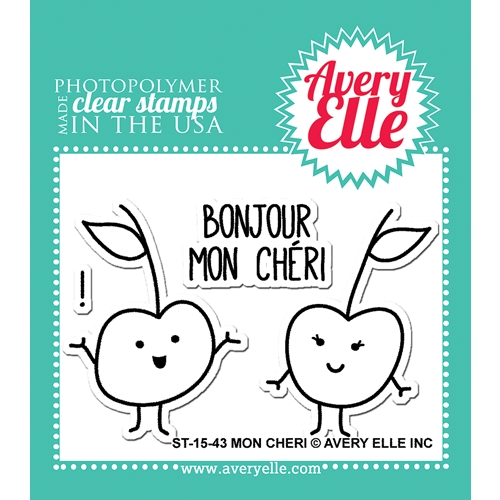 Avery Elle Clear Stamps MON CHERI Set ST-15-43 Preview Image