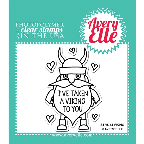 Avery Elle Clear Stamps VIKING Set ST-15-44 Preview Image