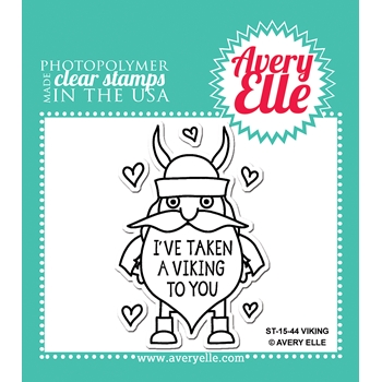 Avery Elle Clear Stamps VIKING Set 023451
