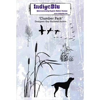 IndigoBlu Cling Stamp CLUMBER PARK Rubber IND0173