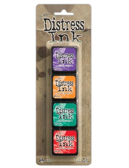 Tim Holtz Distress Ink Pad MINI KIT 15 TDPK46752