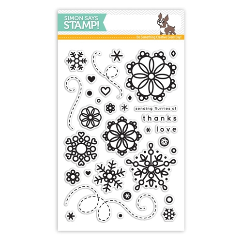 Simon Says Clear Stamps CUTE SNOWFLAKES SSS101602 Preview Image