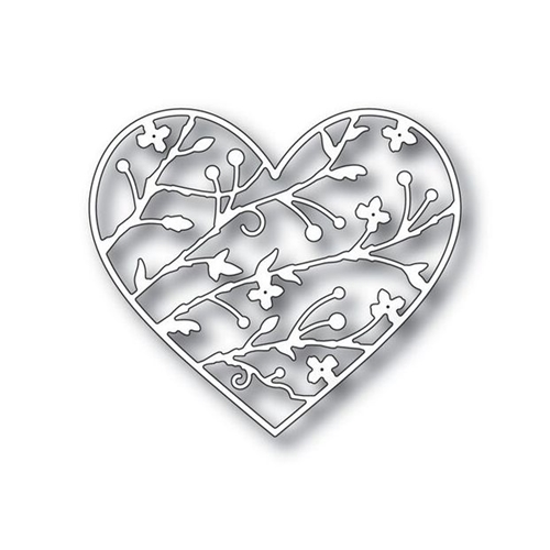 Simon Says Stamp BRAMBLE HEART Wafer Dies s338 You Have My Heart Preview Image