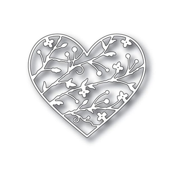 Simon Says Stamp BRAMBLE HEART Wafer Dies s338 You Have My Heart