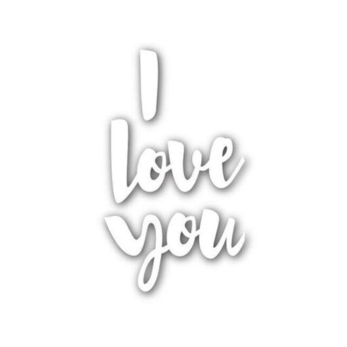 Simon Says Stamp I LOVE YOU Wafer Dies SSSD111561 You Have My Heart Preview Image