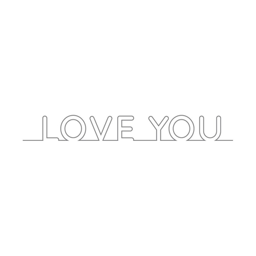 Simon Says Stamp ON EDGE LOVE YOU Wafer Dies sssd111553 You Have My Heart Preview Image