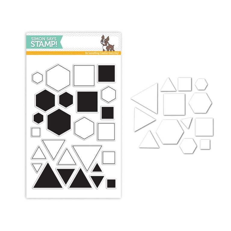Simon Says Stamps and Dies Set PERFECT SHAPES SetPS239 You Have My Heart