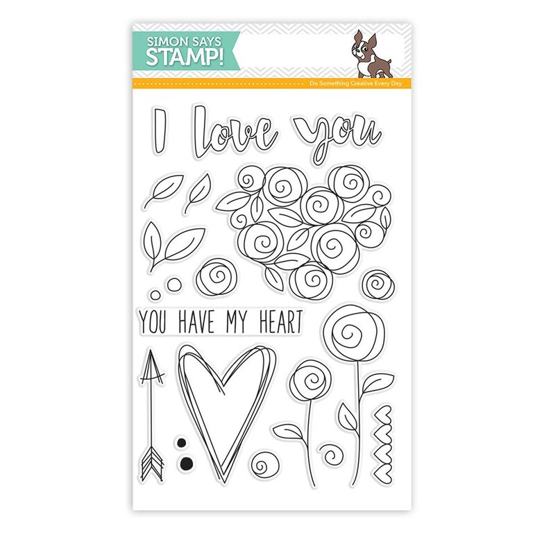 Simon Says Clear Stamps ROSES FOR YOU sss101582 Preview Image