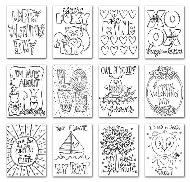 Simon Says Stamp Suzy's LOVE NOTES Watercolor Prints SPV12 You Have My Heart