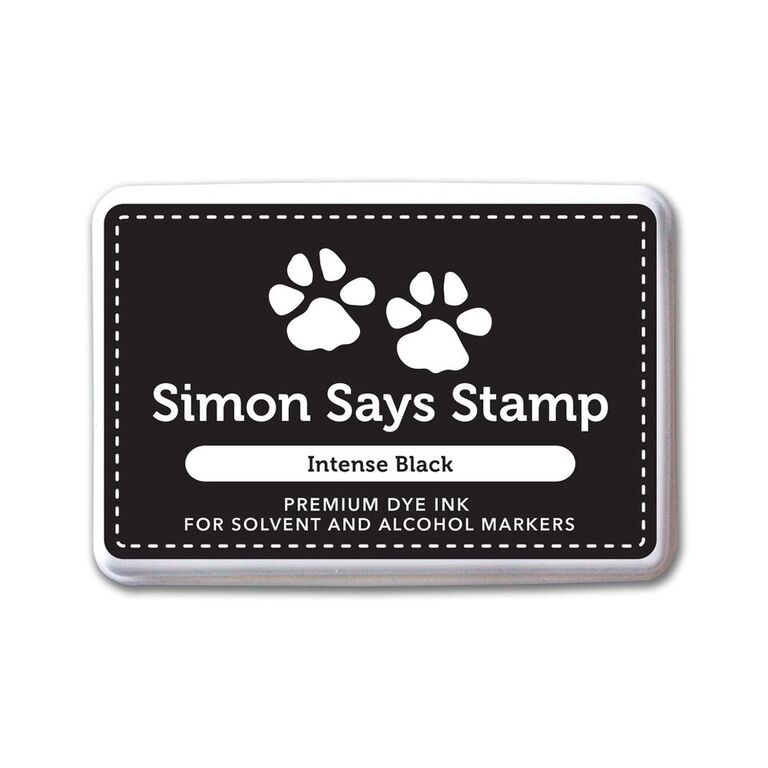 Simon Says Stamp Premium Ink Pad INTENSE BLACK Ink065