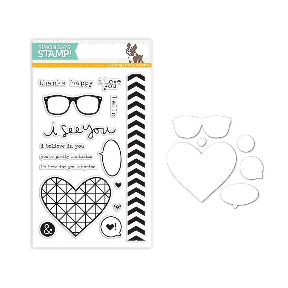 Simon Says Stamps and Dies I SEE YOU SetSY244 You Have My Heart zoom image