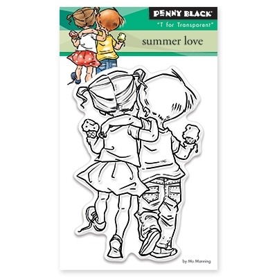 Penny Black Clear Stamps SUMMER LOVE 30-328 Preview Image
