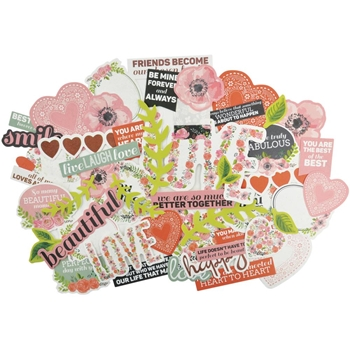 Kaisercraft TRUE LOVE Collectables DIe Cut Shapes CT847*