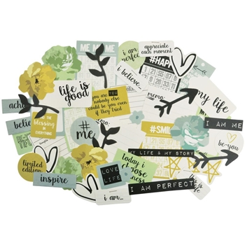Kaisercraft #ME Collectables Die Cut Shapes CT848