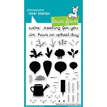 Lawn Fawn ROOTING FOR YOU Clear Stamps LF1040
